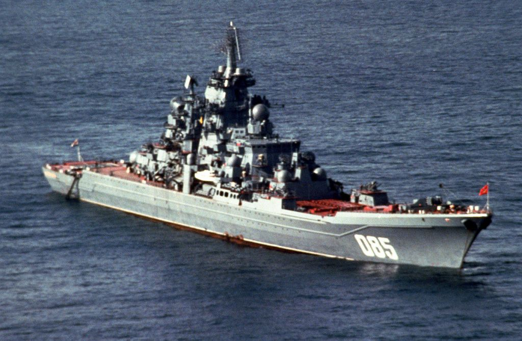 Полночная тревога на «Адмирале Нахимове»